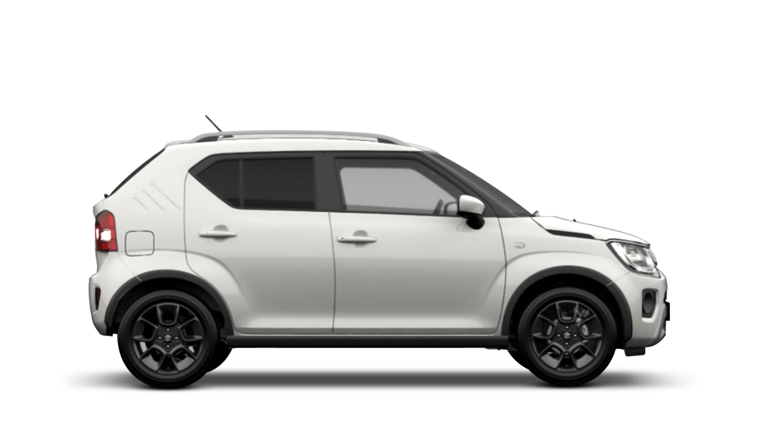 Pure White Pearl with Black Roof (Dual Tone) New Suzuki Ignis