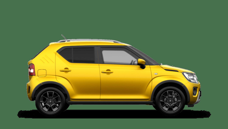 Rush Yellow (Metallic) Suzuki Ignis