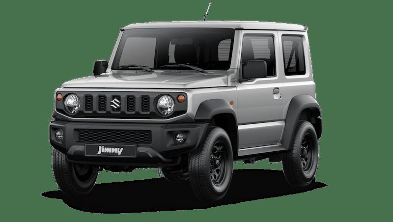 Silky Silver (Metallic) Suzuki Jimny