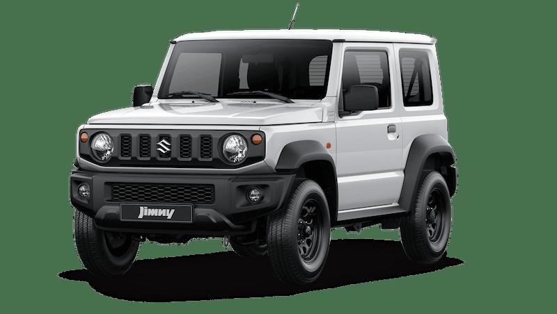 Superior White Suzuki Jimny