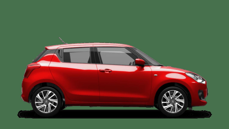 Fervent Red Suzuki Swift