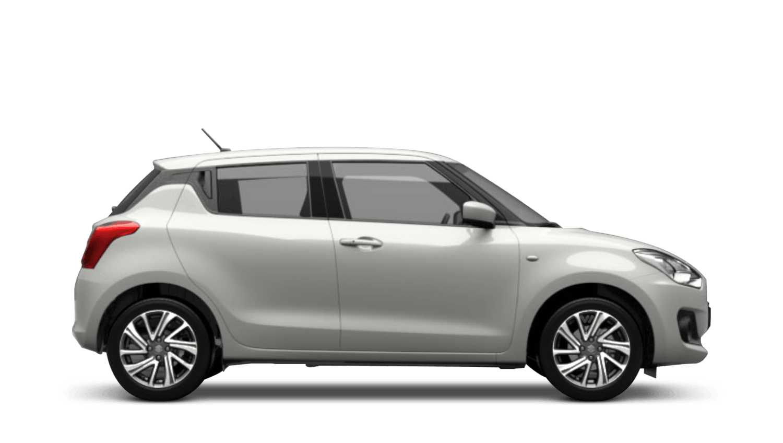Pure White Pearl Suzuki Swift