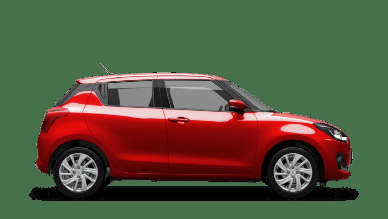 Fervent Red (Standard) Suzuki Swift