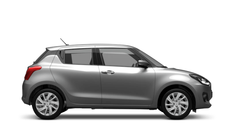 Premium Silver (Metallic) Suzuki Swift