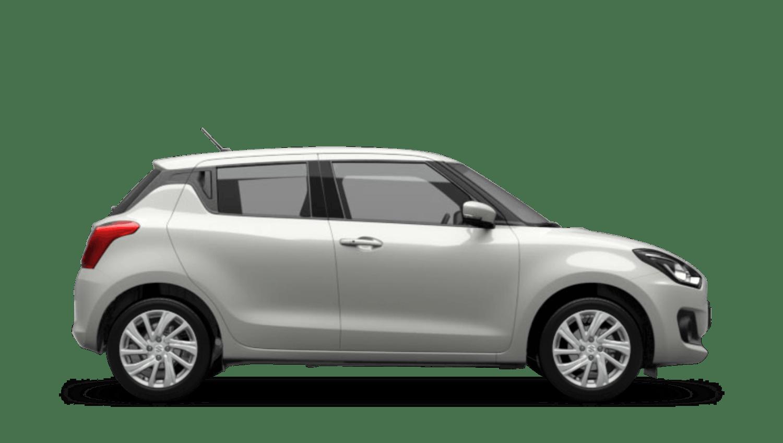 Pure White Pearl (Metallic) Suzuki Swift