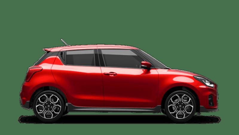 Burning Red Pearl (Metallic) Suzuki Swift Sport
