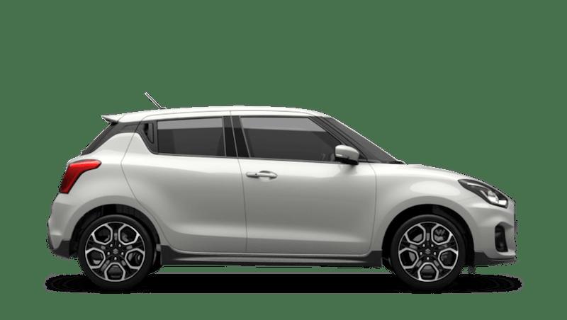 Pure White Pearl (Standard) Suzuki Swift Sport