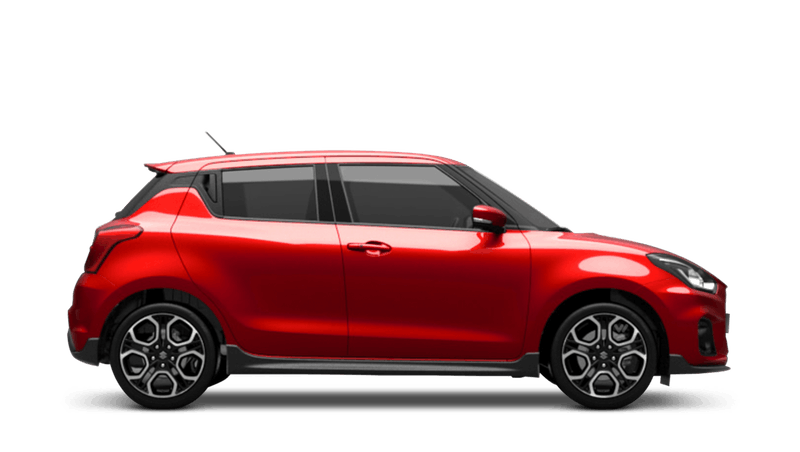 Burning Red Pearl (Metallic) Suzuki Swift Sport