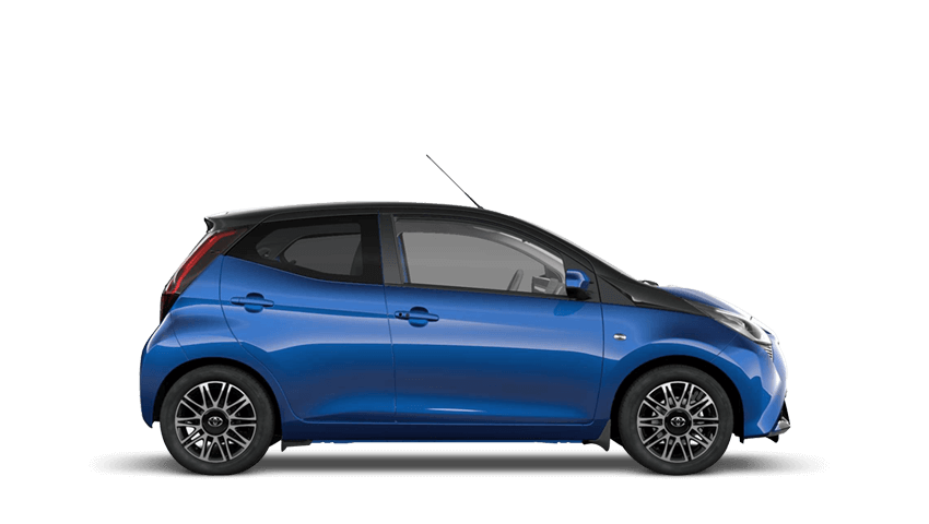 Blue Burst (Metallic) Toyota AYGO