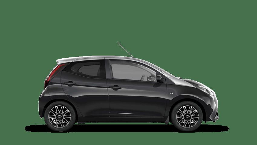 Bold Black (Metallic) Toyota AYGO