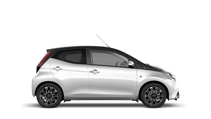Silver Splash (Metallic) Toyota AYGO
