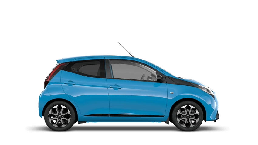 Cyan Splash (Metallic) Toyota AYGO
