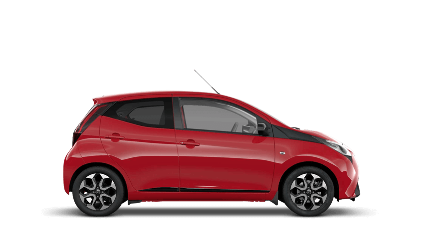 Red Pop (Solid) Toyota AYGO