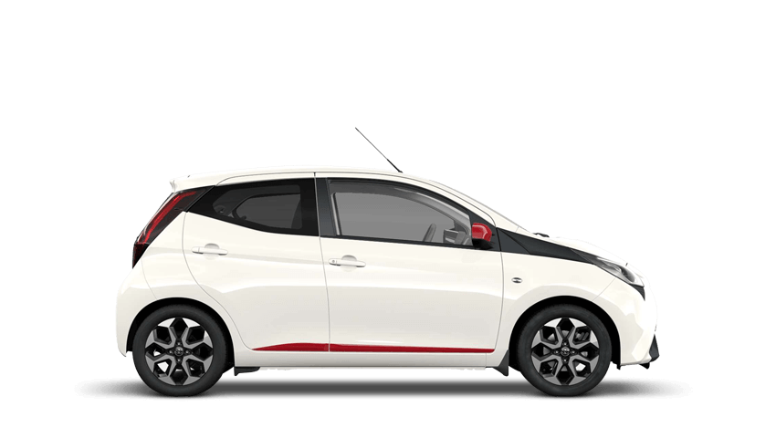 White Flash (Solid) Toyota AYGO