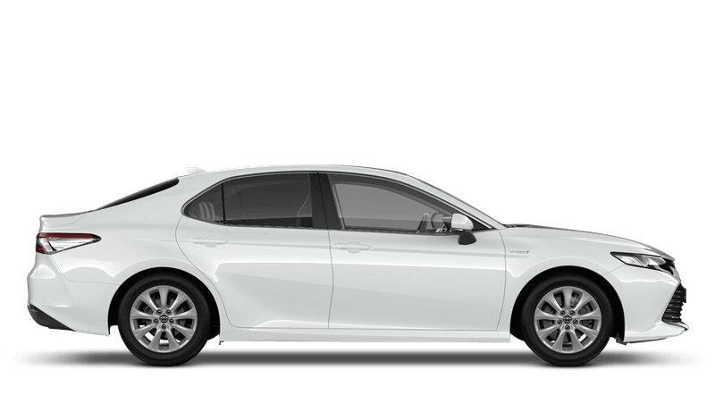 Platinum White (Pearl) All New Toyota Camry Hybrid
