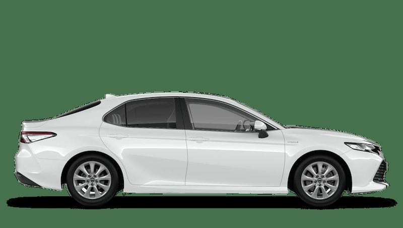 Platinum White (Pearl) All New Toyota Camry Hybrid