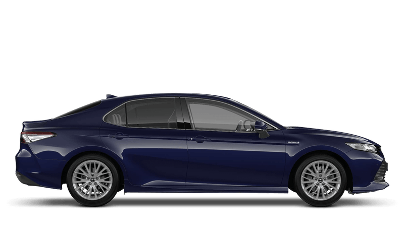 Galactic Blue (Metallic) New Toyota Camry Hybrid