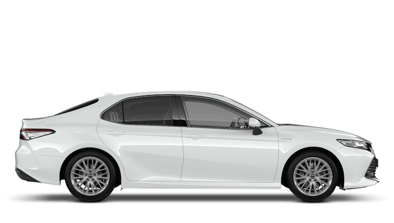 Platinum White (Pearl) All New Toyota Camry
