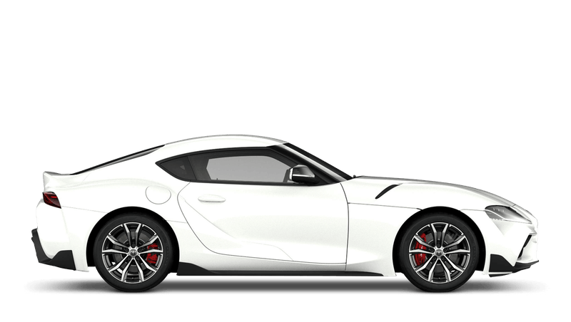 White (Metallic) All New Toyota GR Supra