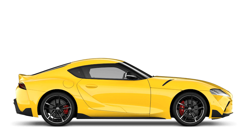 Lightning Yellow (Solid) All New Toyota GR Supra
