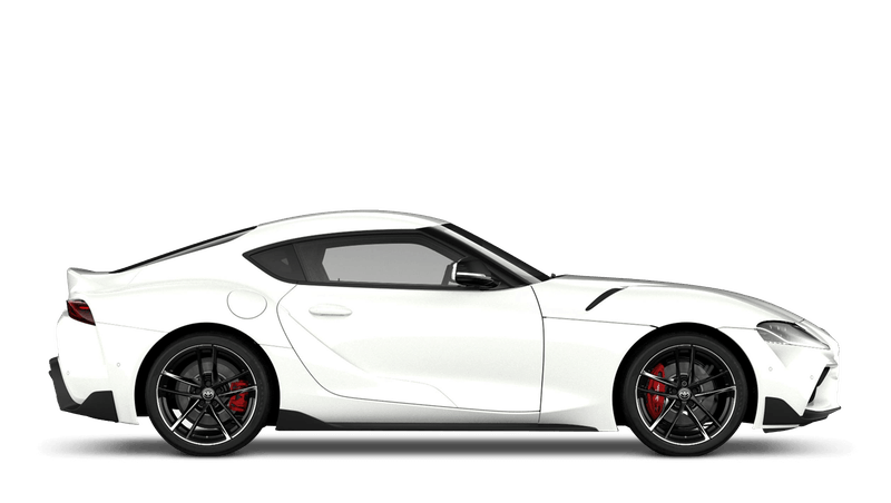 White (Metallic) All New Toyota GR Supra