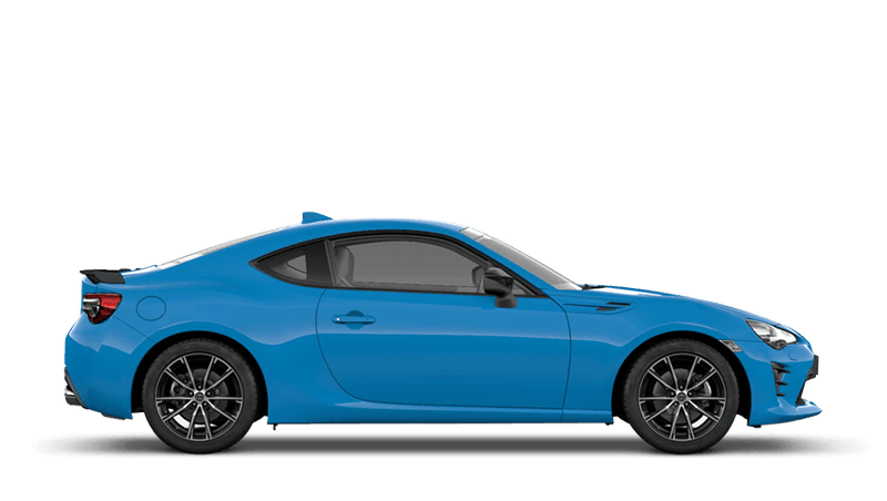 Electric Blue (Solid) Toyota GT86