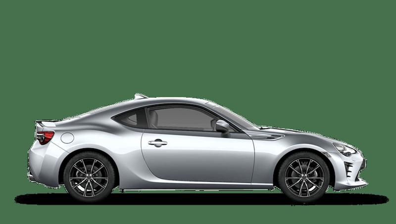 Ice Silver (Metallic) Toyota GT86