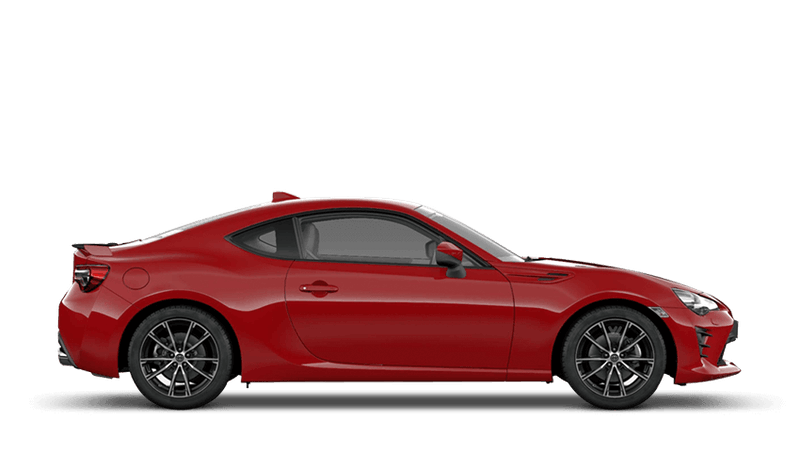 Pure Red (Solid) Toyota GT86
