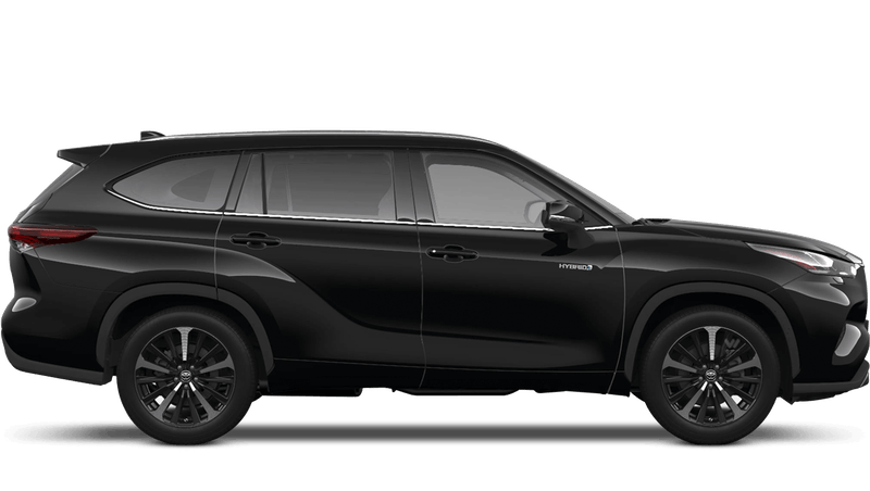 Galaxy Black (Metallic) All New Toyota Highlander