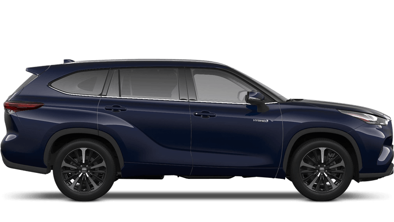 Obsidian Blue (Metallic) All New Toyota Highlander
