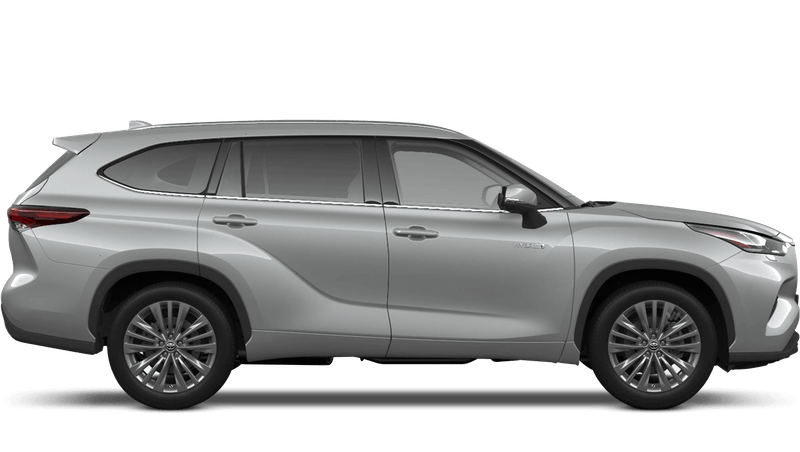Silver Metallic (Metallic) All New Toyota Highlander