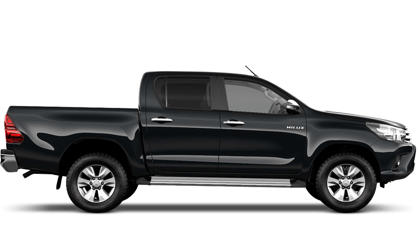 Galaxy Black (Metallic) Toyota Hilux