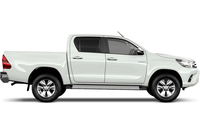 Pure White (Solid) Toyota Hilux