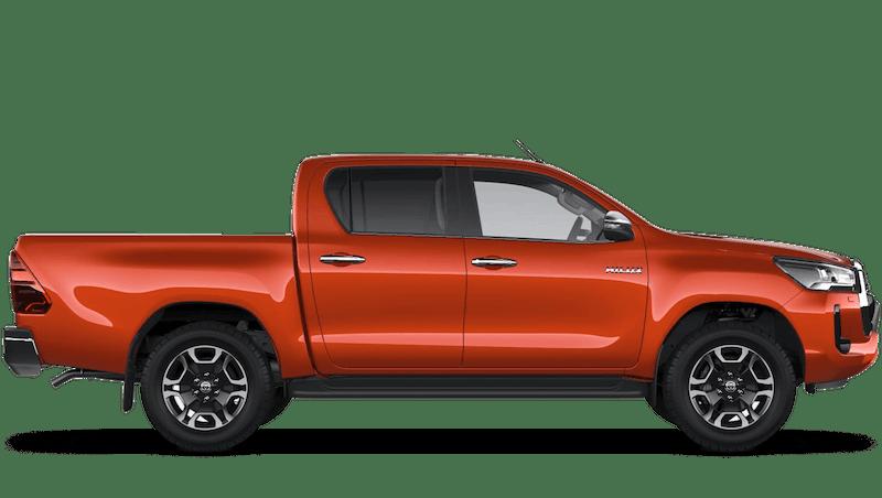 Scorched Orange (Metallic) New Toyota Hilux