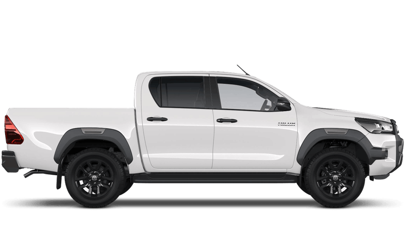 Pure White (Solid) New Toyota Hilux