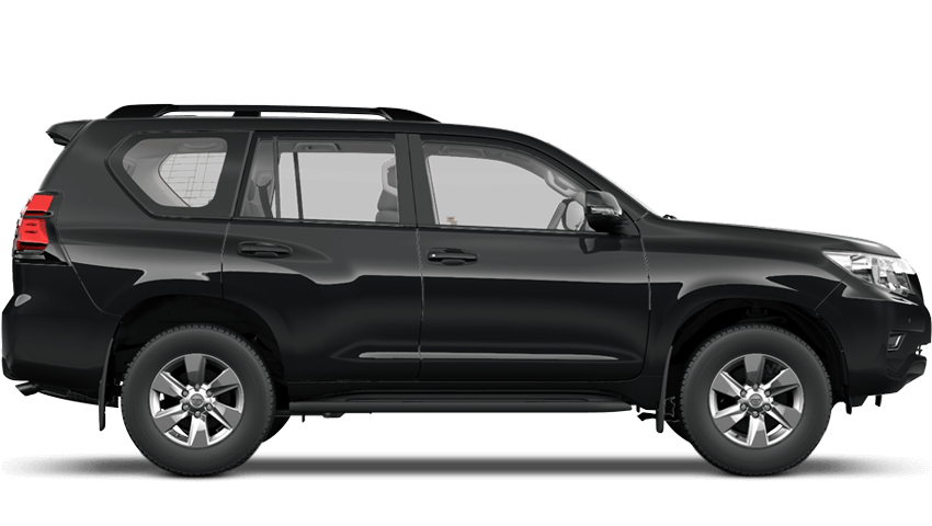 Astral Black (Solid) Toyota Land Cruiser