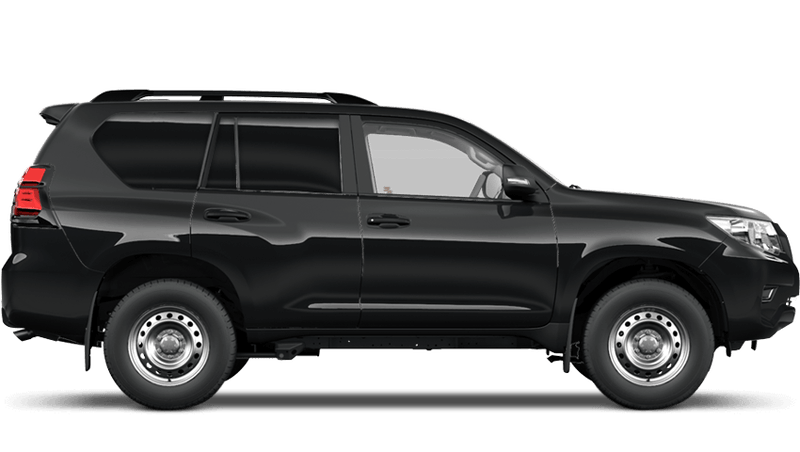 Astral Black (Metallic) Toyota Land Cruiser Commercial