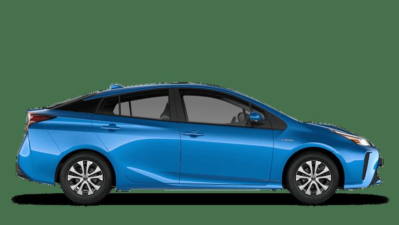 Blue Crush (Metallic) Toyota Prius
