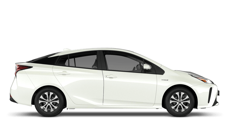 Pearl White (Pearl) Toyota Prius