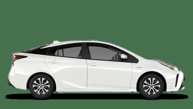 Pure White (Solid) Toyota Prius