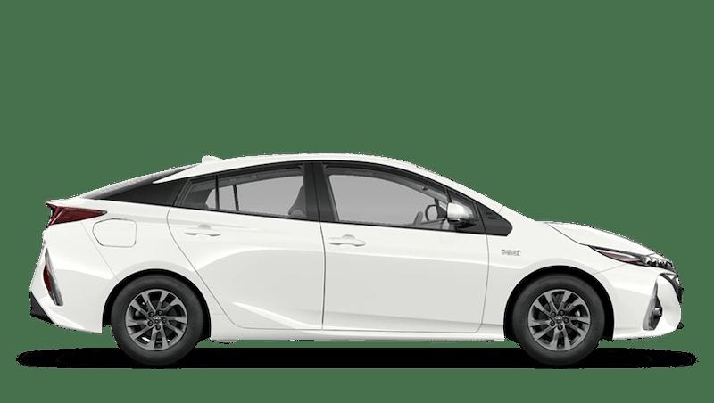 Pure White (Solid) Toyota Prius Plug-in