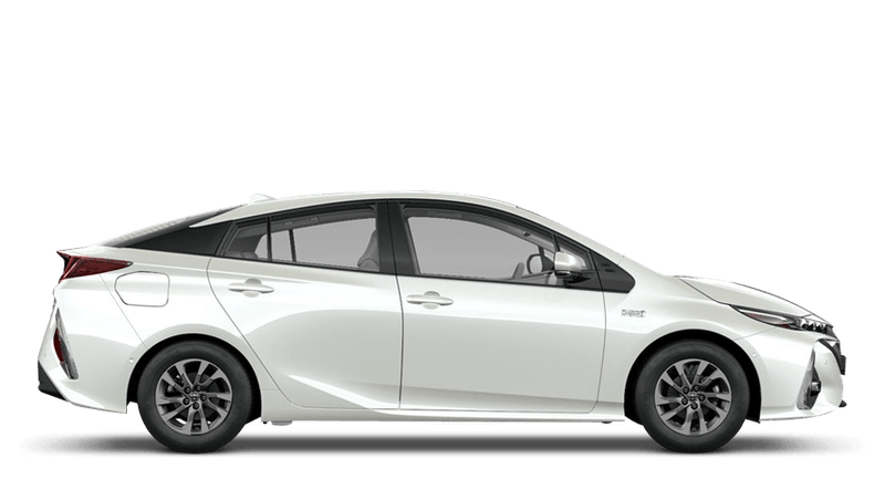White Pearl (Pearl) Toyota Prius Plug-in Hybrid