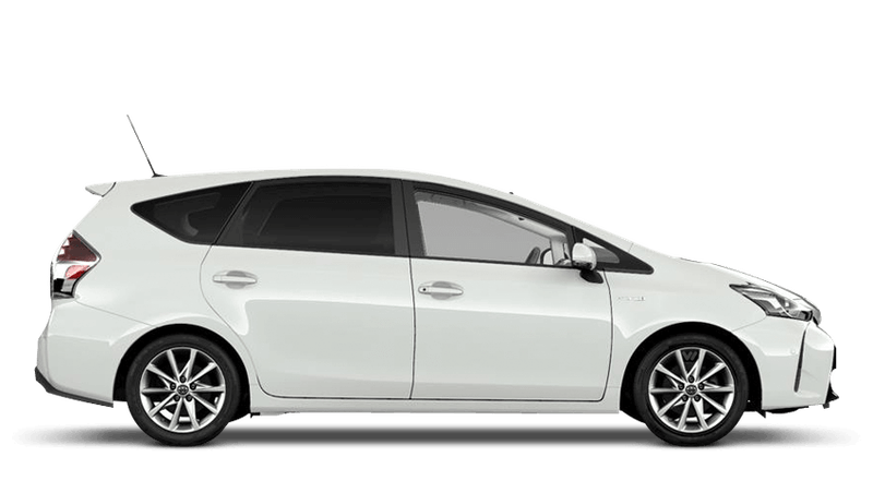 Pure White (Solid) Toyota Prius+