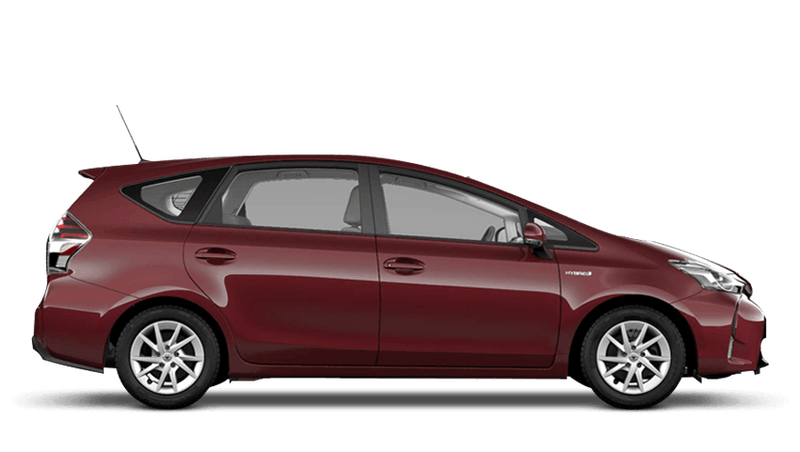 Regency Red (Metallic) Toyota Prius+