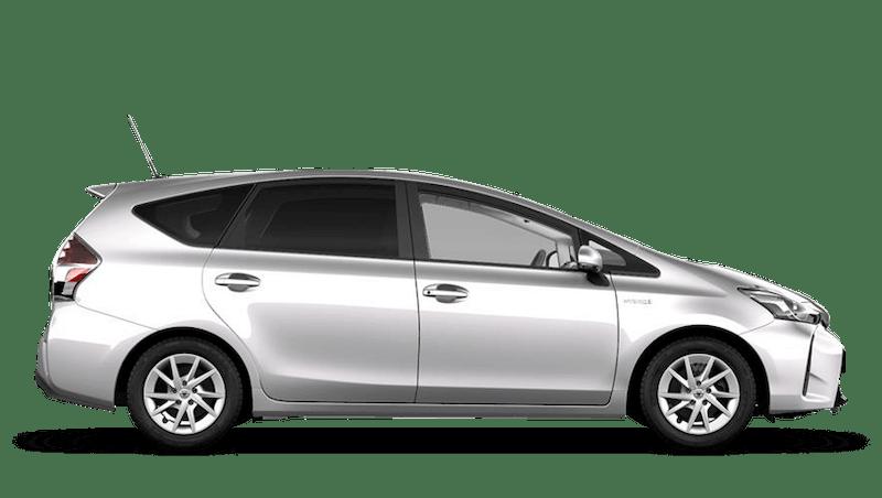 Tyrol Silver (Metallic) Toyota Prius+