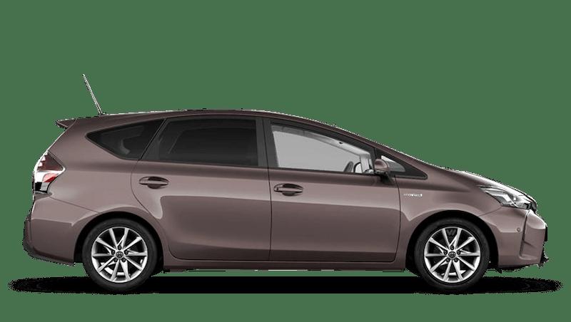 Sienna Bronze (Metallic) Toyota Prius+