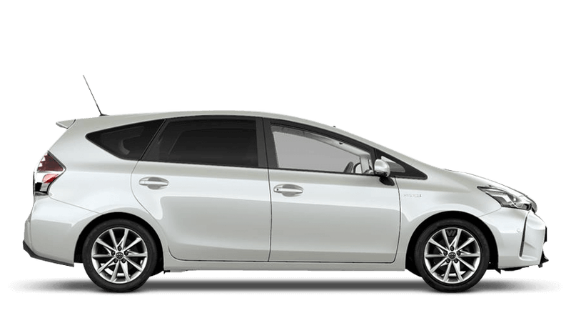 White Pearl (Pearl) Toyota Prius+