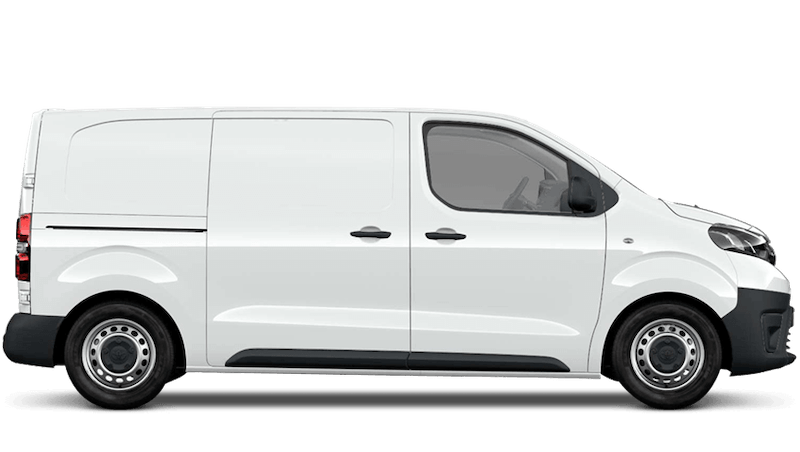 Vivid White (Solid) Toyota Proace