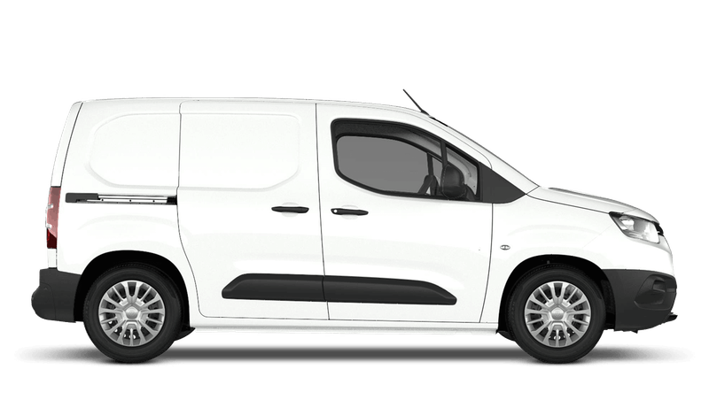 Vivid White (Solid) Toyota Proace City