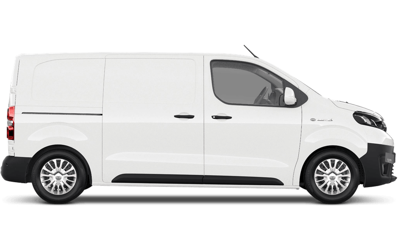 Vivid White (Solid) All New Toyota Proace Electric